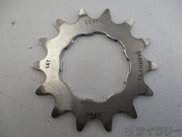 シングルスプロケット CS-MX66 14T 薄歯