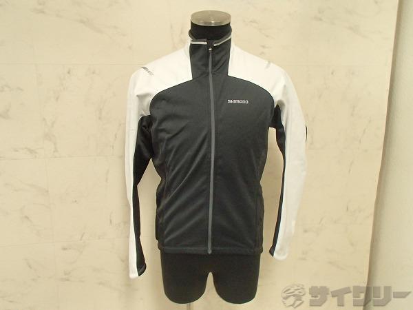 長袖ジャケット Lサイズ ブラック/ホワイト