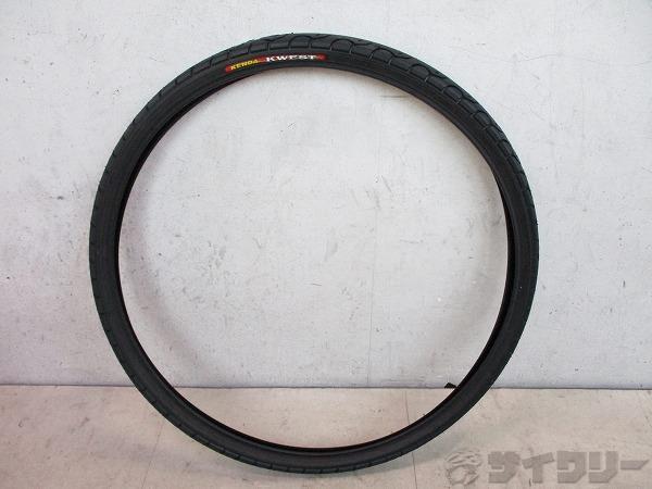 クリンチャータイヤ KWEST 28-451(20x1-1/8) ブラック