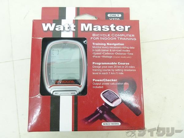 トレーナー専用コンピューター Watt Master ワットマスター※通電・表示確認済