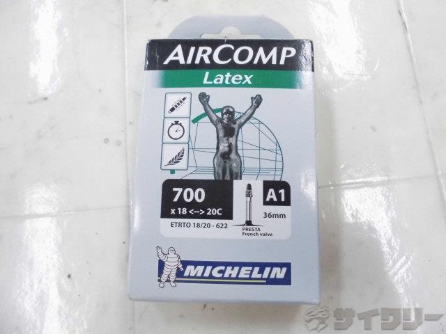 チューブ AIRCOMP LATEX 700x18-20c 仏式36mm