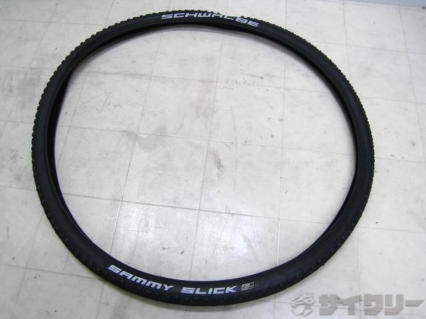 クリンチャータイヤ SAMMY SLICK 28x1.35