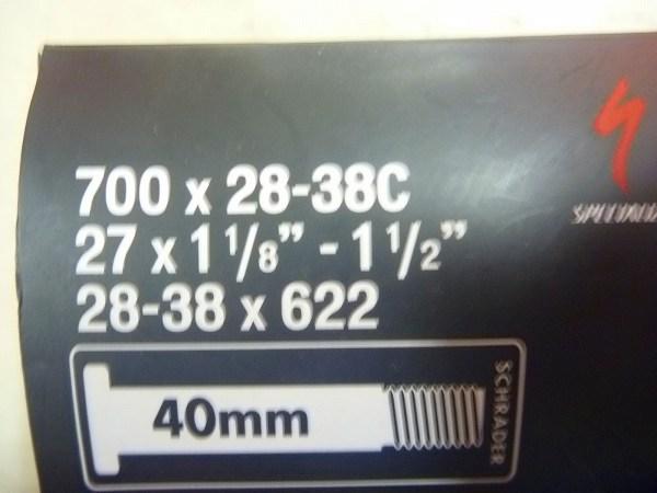 チューブ 700x28-38c 米式/40mm