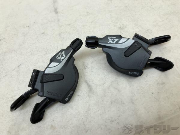 トリガーシフター X7 2x10s ※クランプ欠品