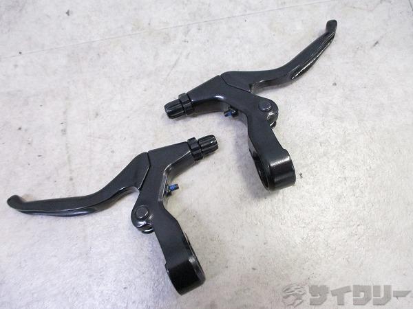ブレーキレバー V-ブレーキ対応 ブラック