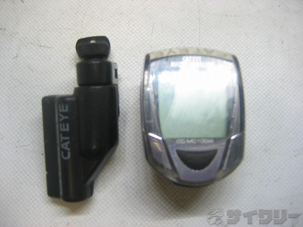 サイクルコンピューター CC-MC100W 電池欠品