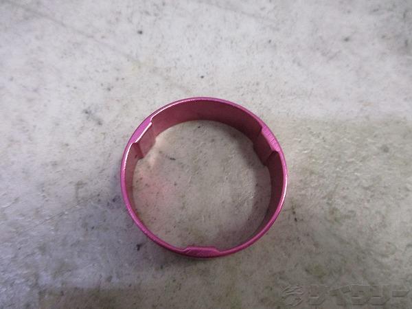 コラムスペーサー 10mm 28.6mm(OS) ピンク