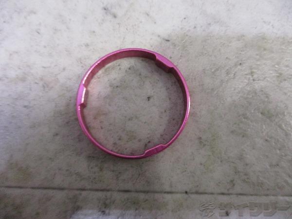 コラムスペーサー 5mm 28.6mm(OS) ピンク