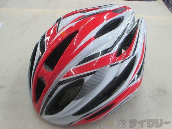 ヘルメット FIGO サイズ:M/L  レッド/ホワイト