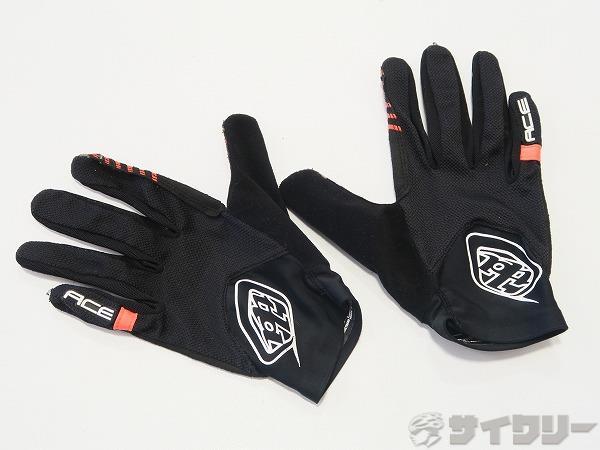 ACE グローブ ブラック/オレンジ Sサイズ