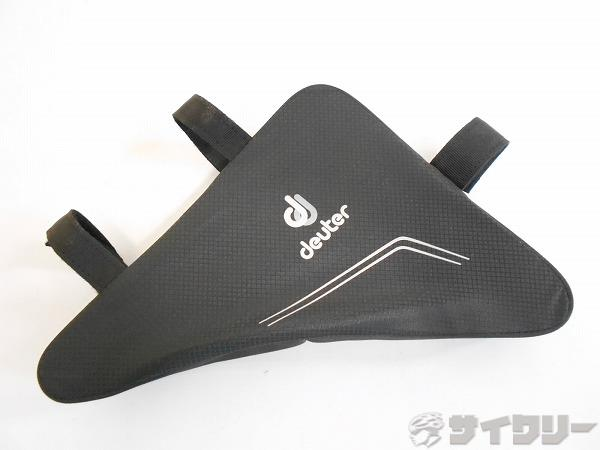 フレームバッグ ブラック 240×200×50mm(実測)