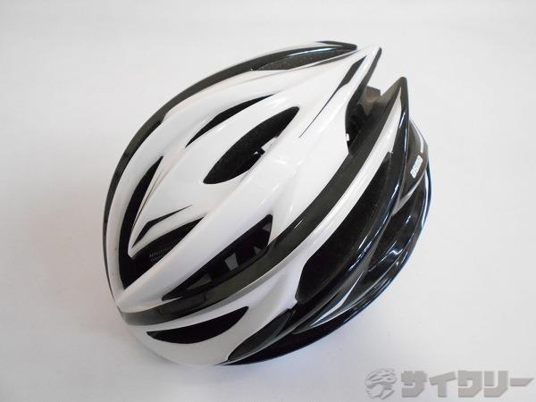ヘルメット ASMA ブラック/ホワイト S/Mサイズ(55~58cm)