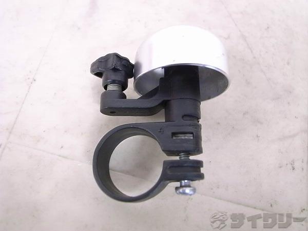 ベル 25.4mm シルバー/ブラック