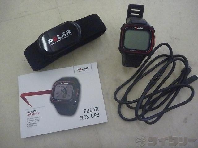心拍計付スポーツウォッチ RC3 GPS 動作未確認