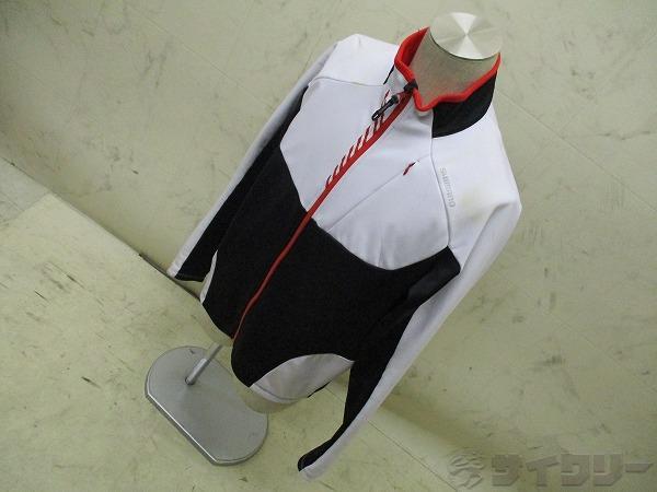 染み 長袖フルジップジャケット サイズ:ASIA XL 裏起毛