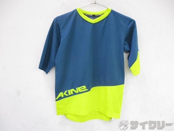 半袖シャツ Mサイズ ブルー/イエロー