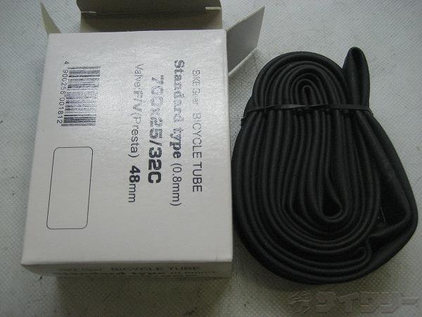 チューブ 700X25/32C 仏式 48mm