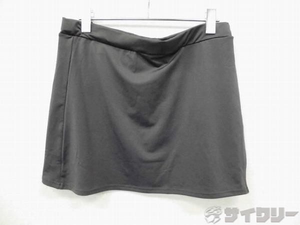 サイクルスカート? 69-85cm(L-LL) チャコールグレー