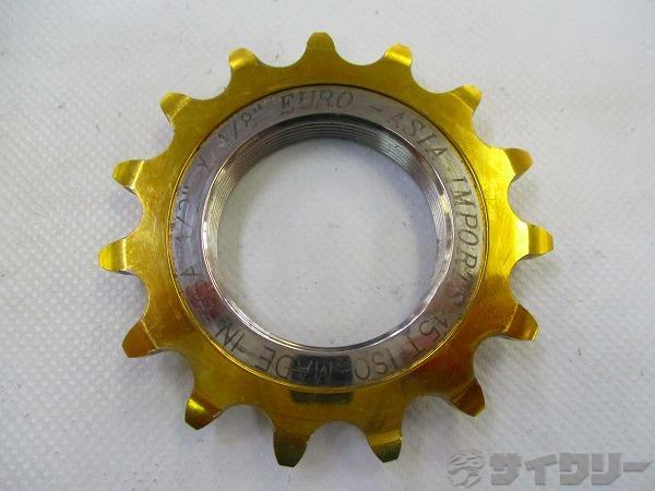 固定コグ IMPORTS 15T ISO 1/2×1/8
