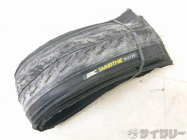 スリックタイヤ SMOOTHIE 26x1.25 クリンチャー