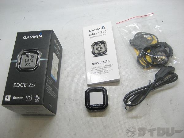 GPSサイクルコンピューター EDGE25J
