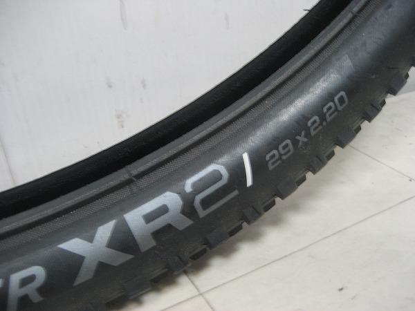 ブロックタイヤ XR2 29×2.2