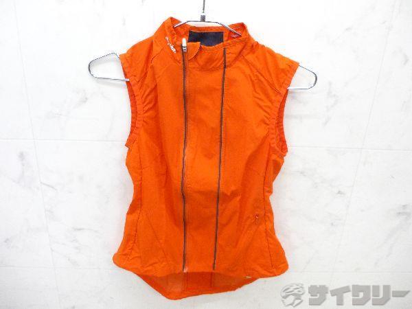 サイクルベスト オレンジ サイズ:X-SMALL