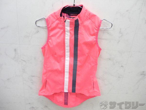 サイクルベスト ピンク サイズ:XS