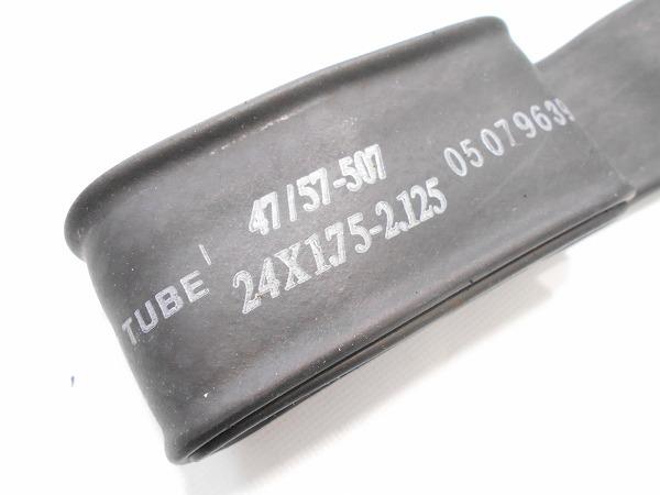 チューブ 24×1.75-2.125(47/57-507) 英式
