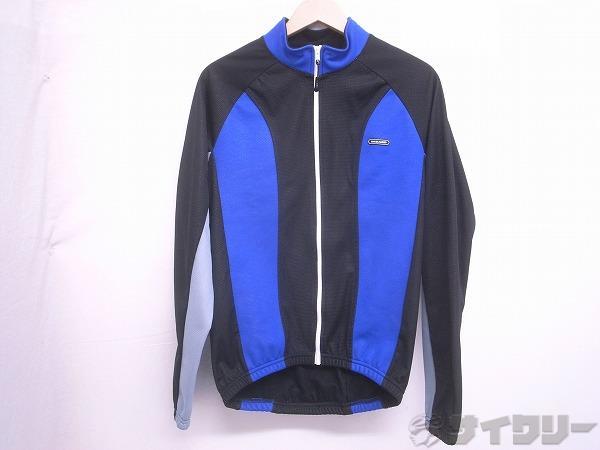 長袖ジャケット ウィンドコントロール ジャケット2 Mサイズ ブラック/ブルー