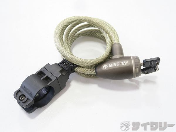 ワイヤーロック 8mm×160mm キータイプ(2本)