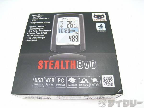 サイクルコンピューター CC-GL11 STEALTH EVO