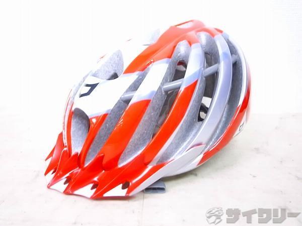 ヘルメット VACUUM サイズ:55-57(M) 2012年式 レッド/ホワイト