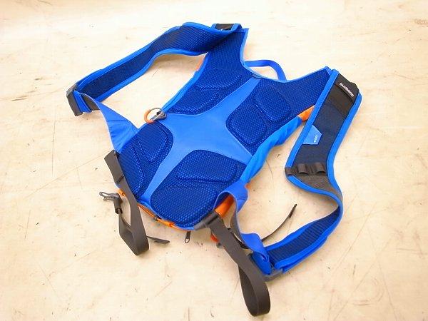 バックパック U6 6L ブルー/オレンジ