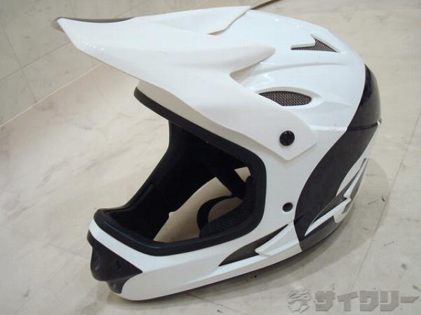 フルフェイスヘルメット Comp Shifted Helmet Mサイズ ホワイト