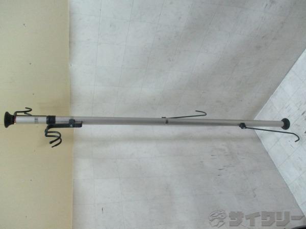 バイクピット 引っ掛け縦吊りタイプ突っ張りポール型 2台用 ※注あり