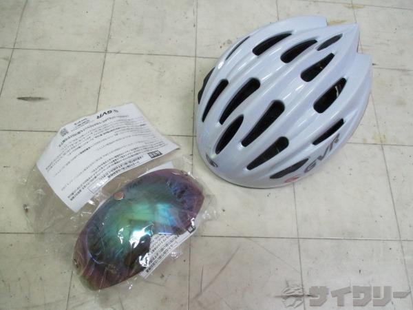 ヘルメット G-203V 54-60cm 2014 ホワイト ※注あり