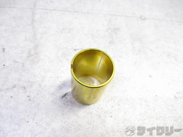 コラムアダプター 25.4→28.6mm 42mm程 ゴールド