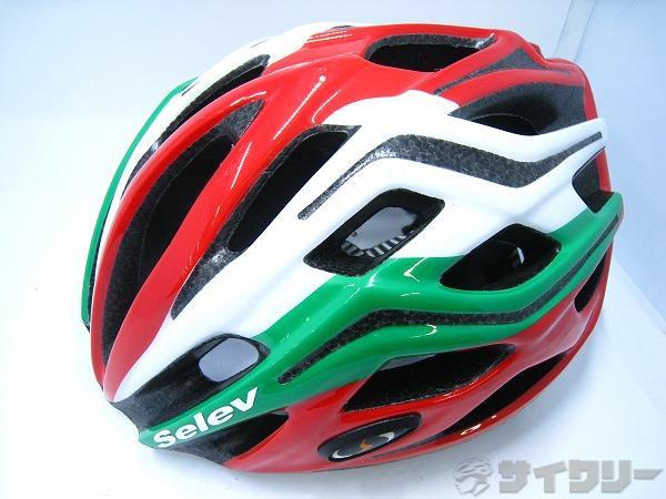 ヘルメット MP3 M SUPER Mサイズ(56/60cm) ホワイト/レッド/グリーン