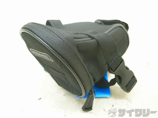 サドルバッグ 15.5X9X8cm ブラック