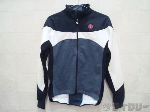 長袖ジャケット Lサイズ ブラック/グレー/ホワイト