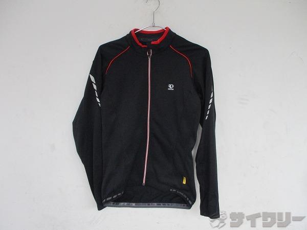 ジャケット Mサイズ ブラック/レッド