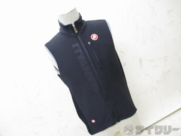 ホツレ ノースリーブジャケット WINDSTOPPER  サイズ:L