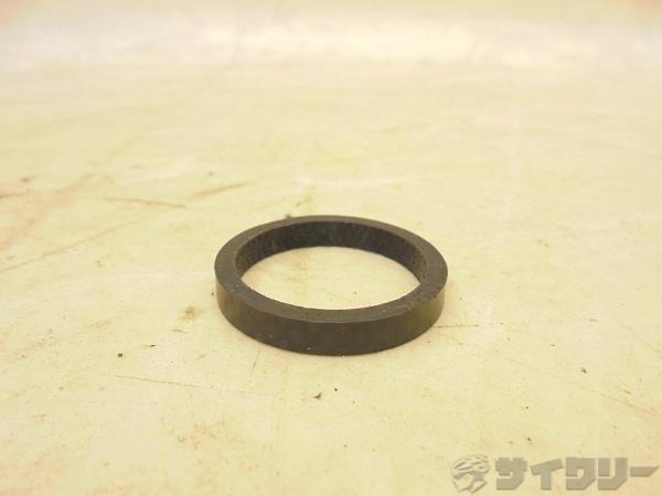 カーボンコラムスペーサー 5mm OS(28.6mm)