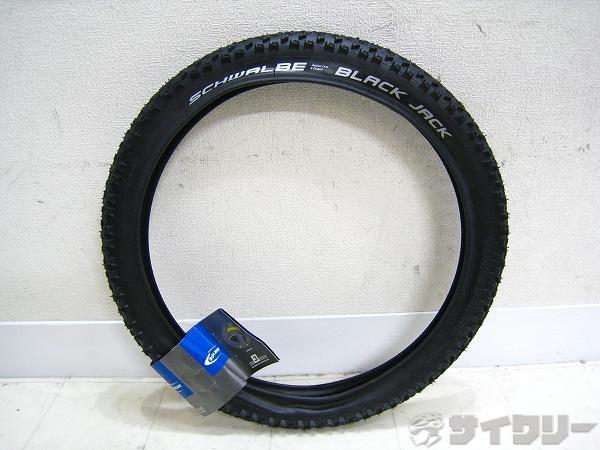 クリンチャータイヤ BLACK JACK 18x1.90