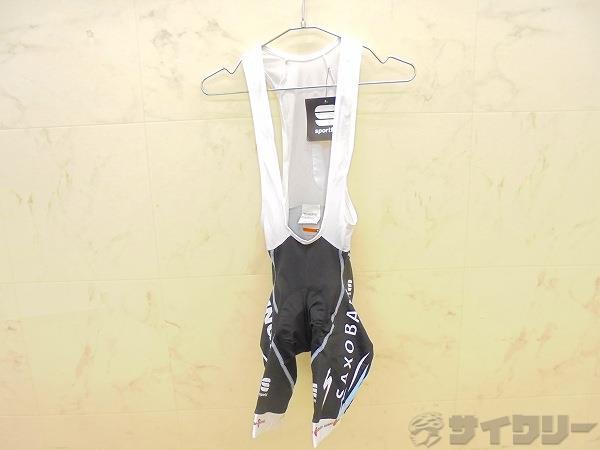 ビブショーツ Sサイズ ブラック/ホワイト