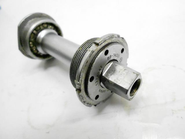 ボトムブラケット BB-7400 DURA-ACE NJS刻印 軸長:112.2mm(実測)