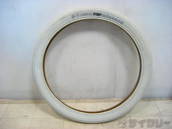 タイヤ 20×1.95 ホワイト