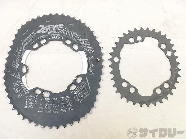 チェーンリング 52-36t/PCD:110mm/4・5アーム