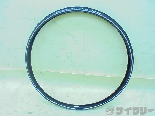 タイヤ MARATHON 700X25c(25-622) クリンチャー ブラック